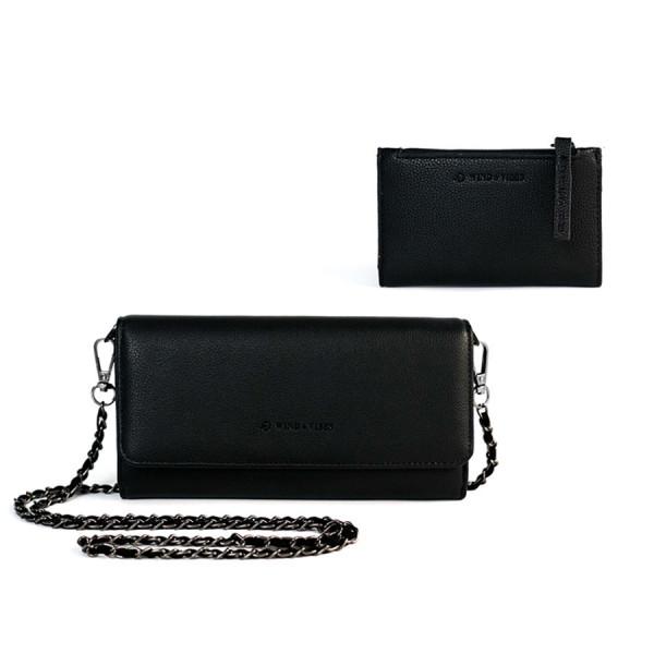 Black Wallet Set