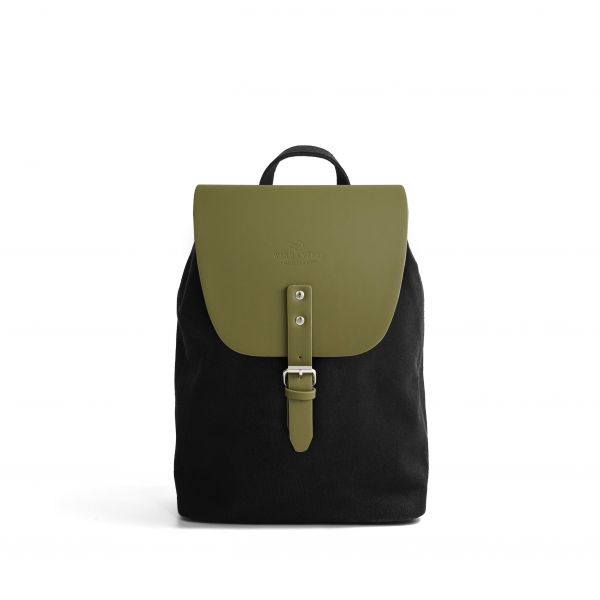 Frisco Canvas S + Flap Olive