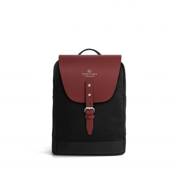 Mayfair Canvas S + Flap Classic Bordeaux