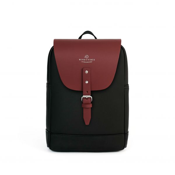 Mayfair + Flap Classic Bordeaux M