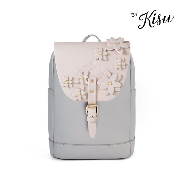 Flower Collection by Kisu - Mayfair Vegan Stone Grey M