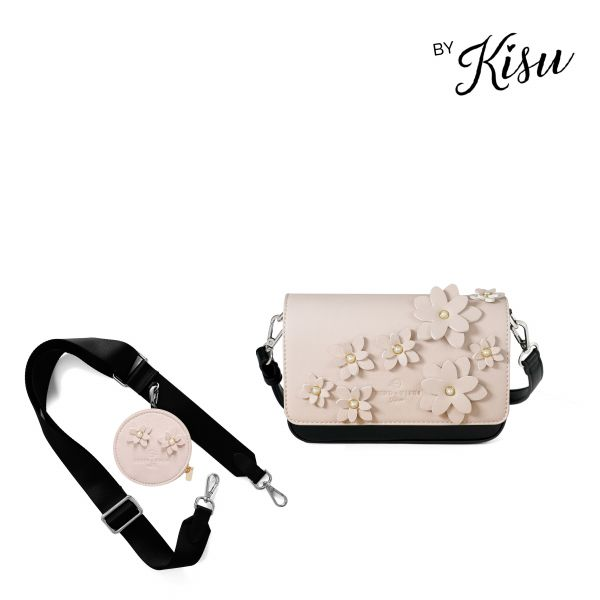 Flower Collection by Kisu - Coin Case Set Nude Brooklyn