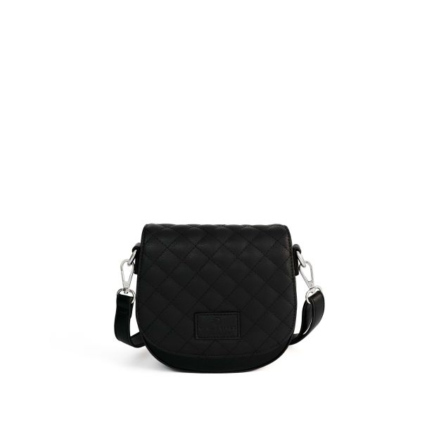 Set Lima Vegan Black + Flap Vanity Black
