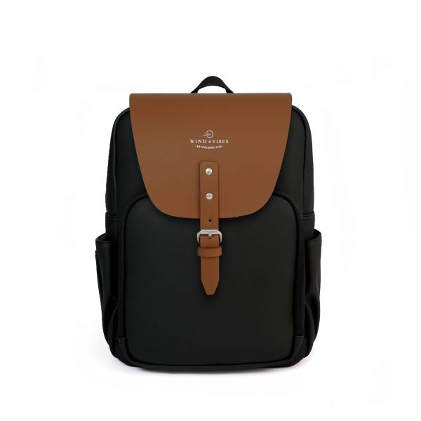 Mayfair Vegan Black/Cognac Plus