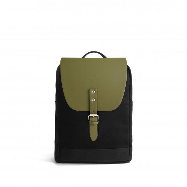 Mayfair Canvas S + Flap Olive