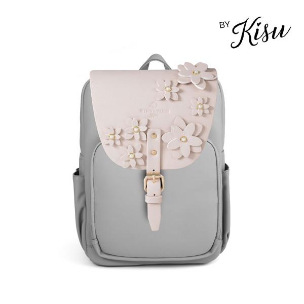 Flower Collection by Kisu - Mayfair Vegan Stone Grey Plus