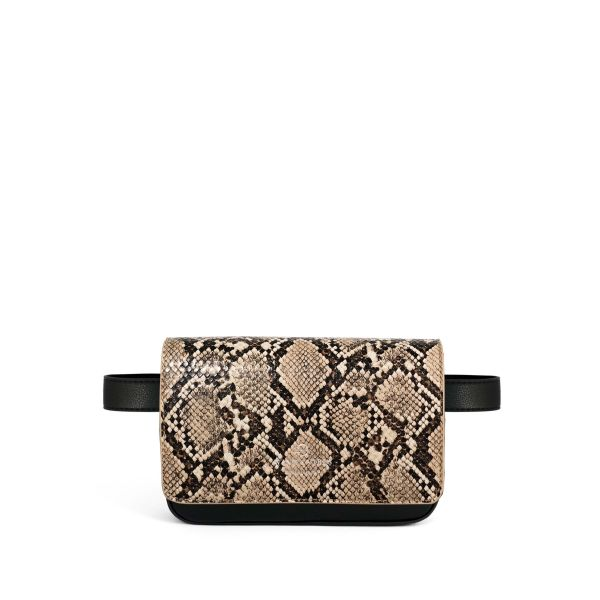 Brooklyn Vegan Black + Flap Sand Python